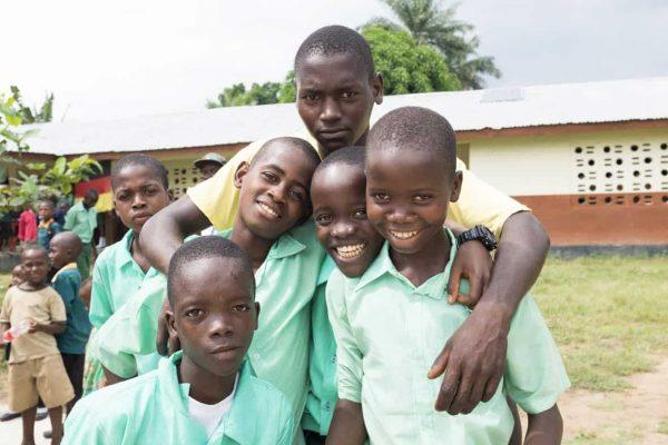 Schüler in Maloko