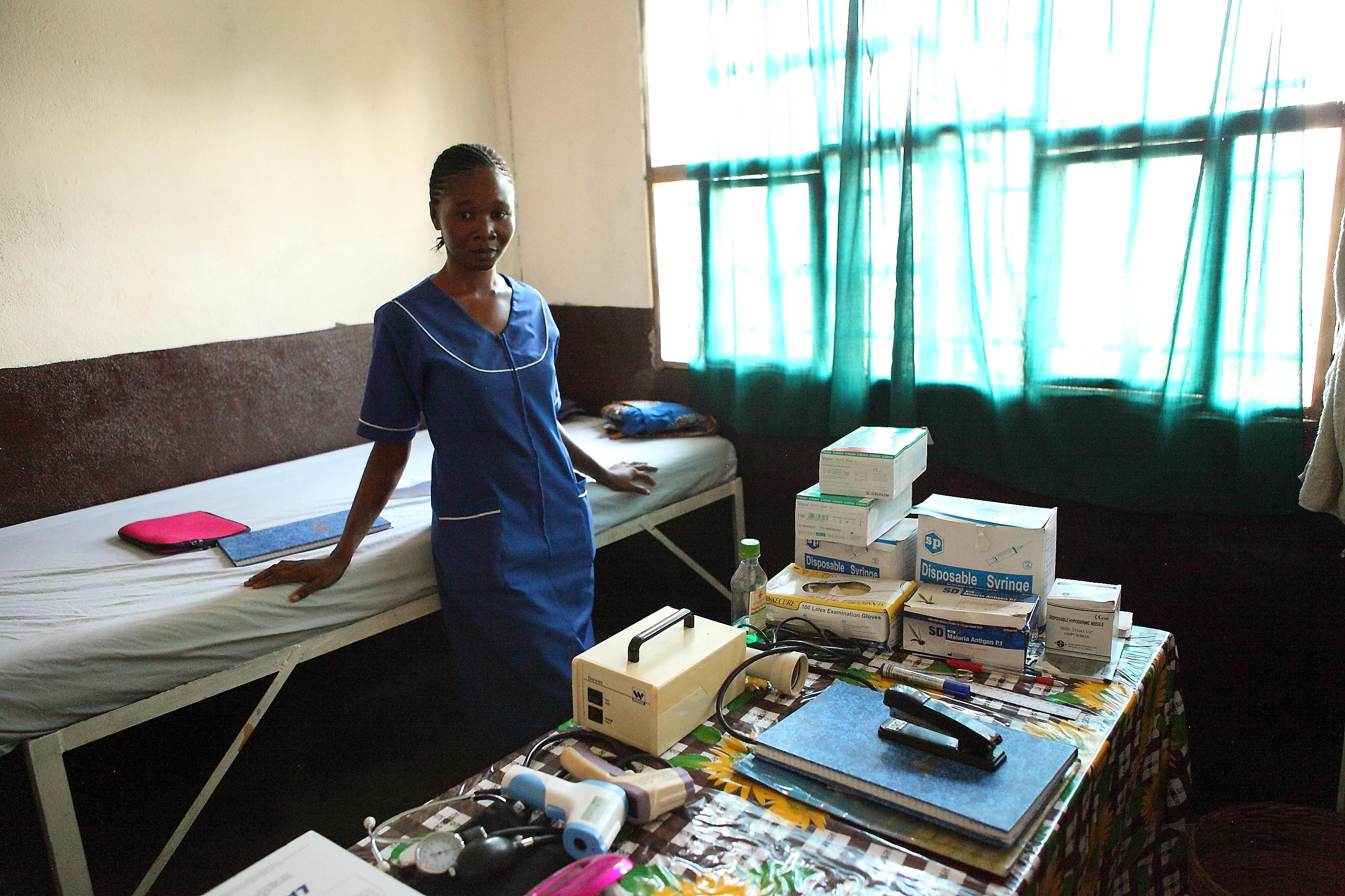 Klinik in Kalangba