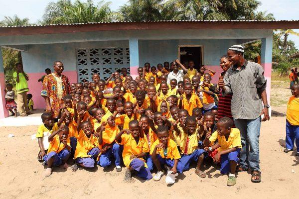 Die verschiedenen Klassenhäuser in Bailor