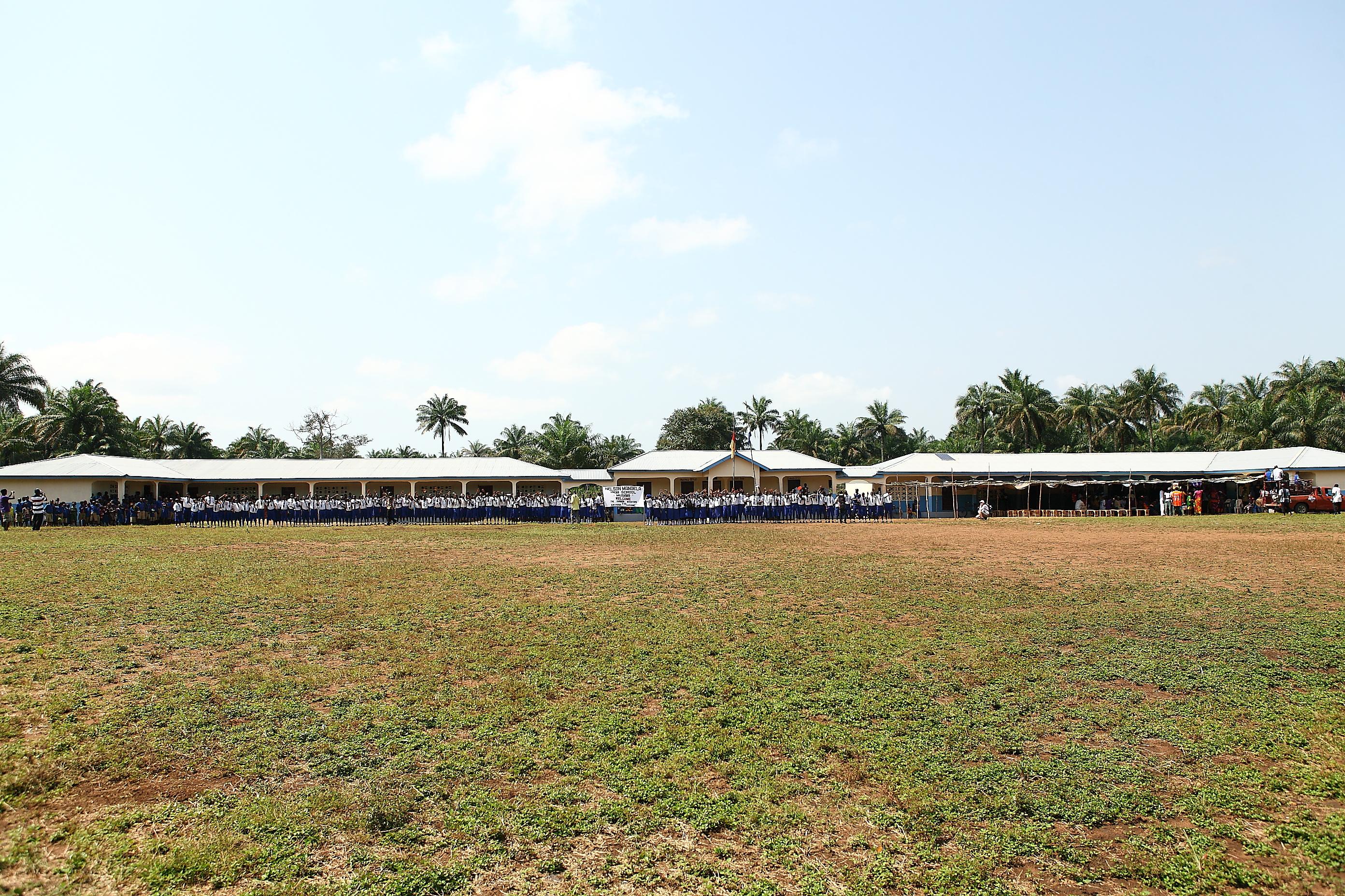2012: Die 6. Schule in Musaya