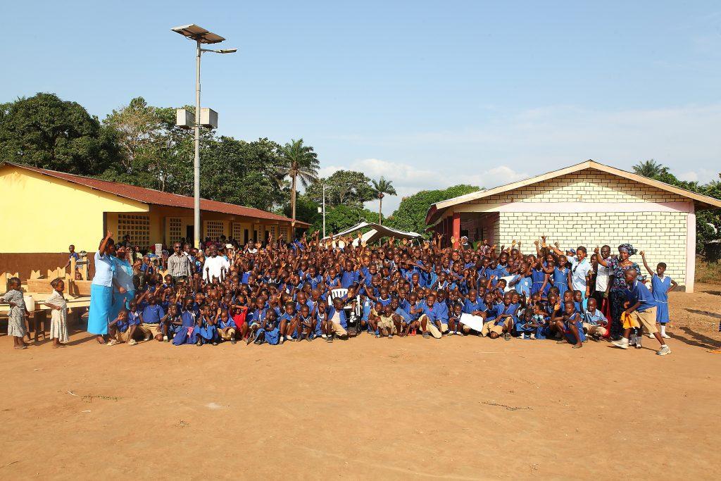 Schulgebäude in Modia. Forikolo - Schulen für Sierra Leone