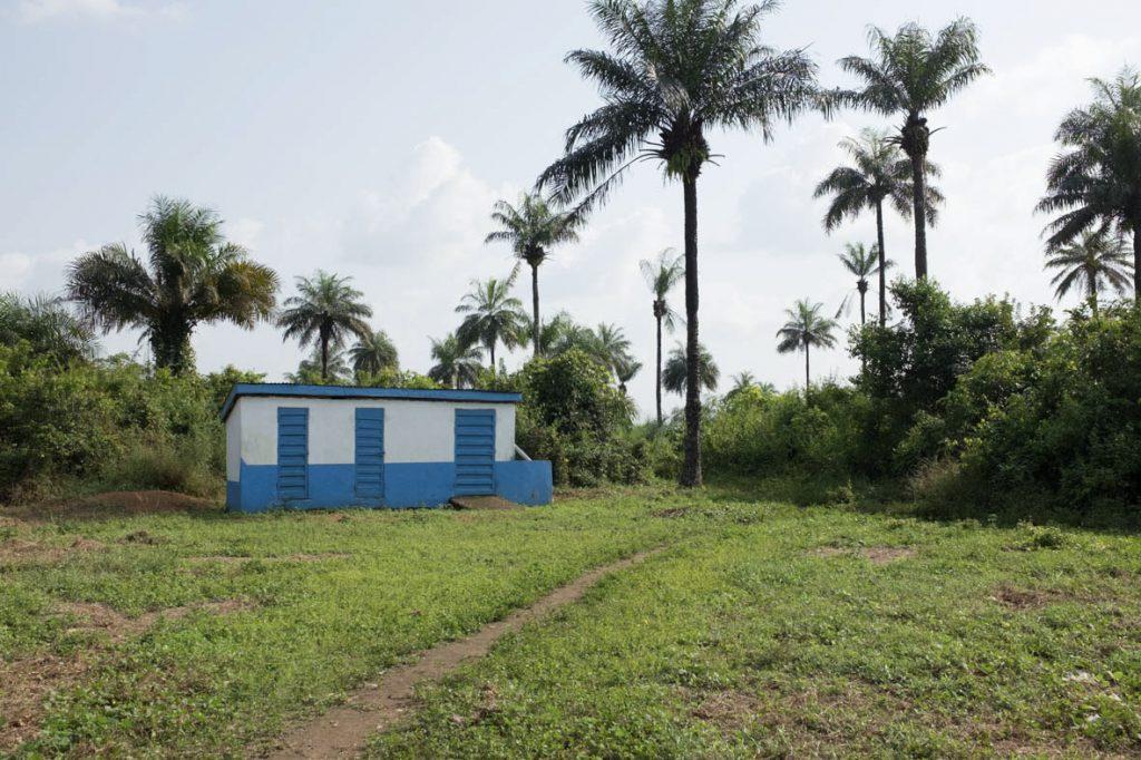 Toiletten in Rotifunk: Alle neuen Schulgebäude erhalten auch Toiletten.