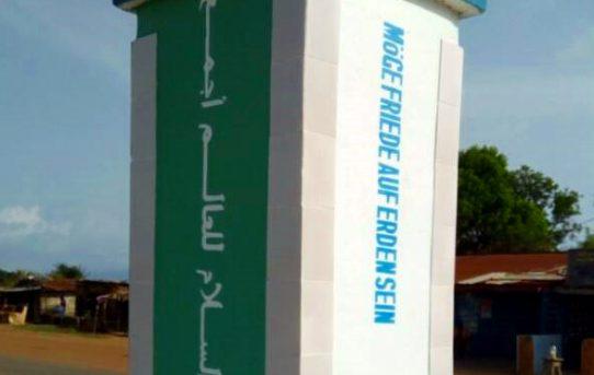 Möge Friede auf Erden sein: Ein Friedensdenkmal für Sierra Leone