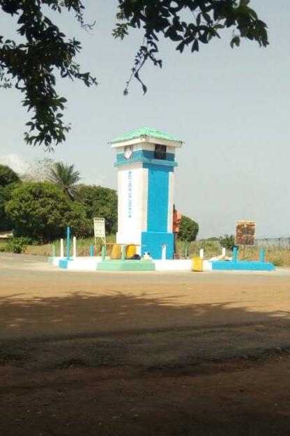 Das Friedensdenkmal in Sierra Leone