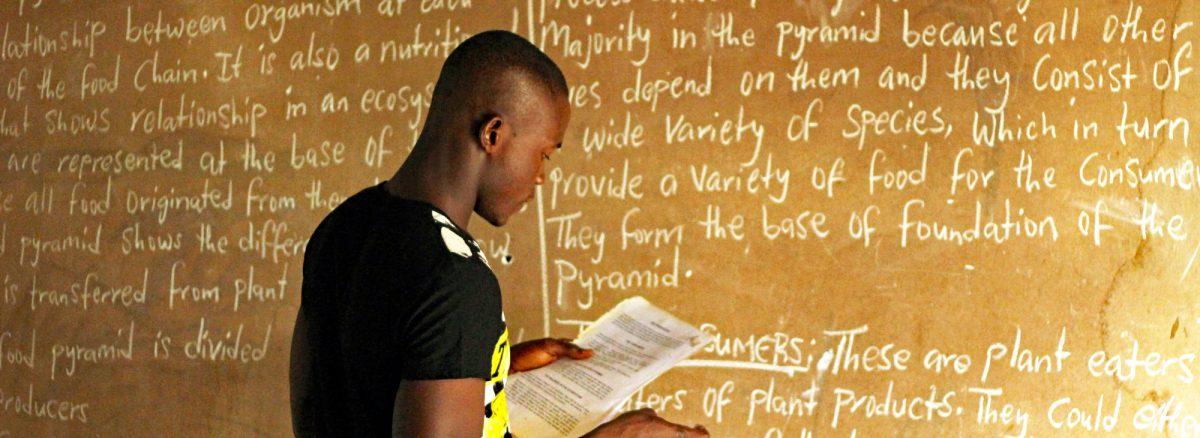 Schulunterricht bei Forikolo