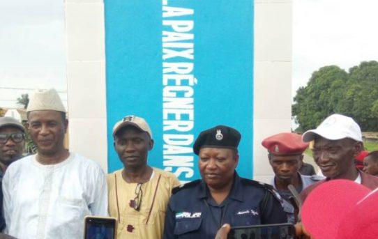 Friedensdenkmal für Sierra Leone feierlich eingeweiht