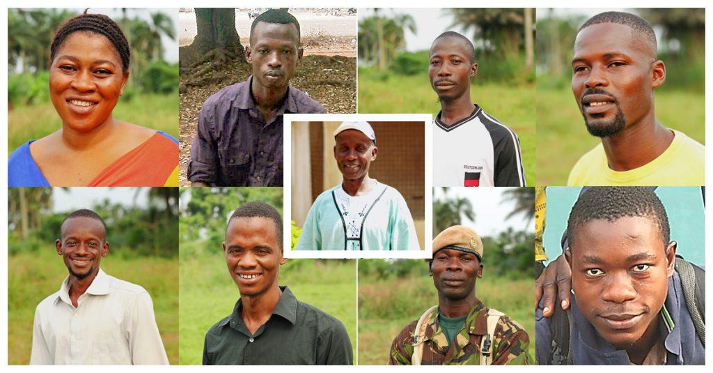 Das Team vor Ort des Forikolo Action Project