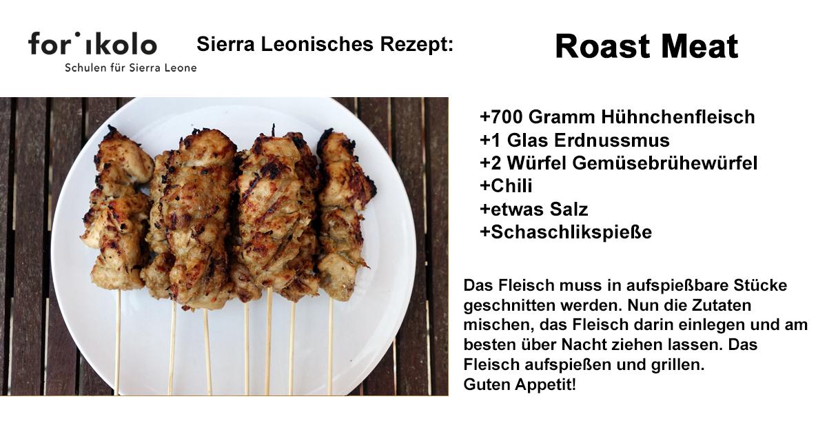 Sierra Leonisches Rezept: Roast Meat
