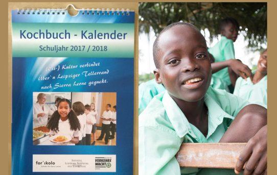Jetzt bestellen: Kochbuch-Kalender 2017/2018