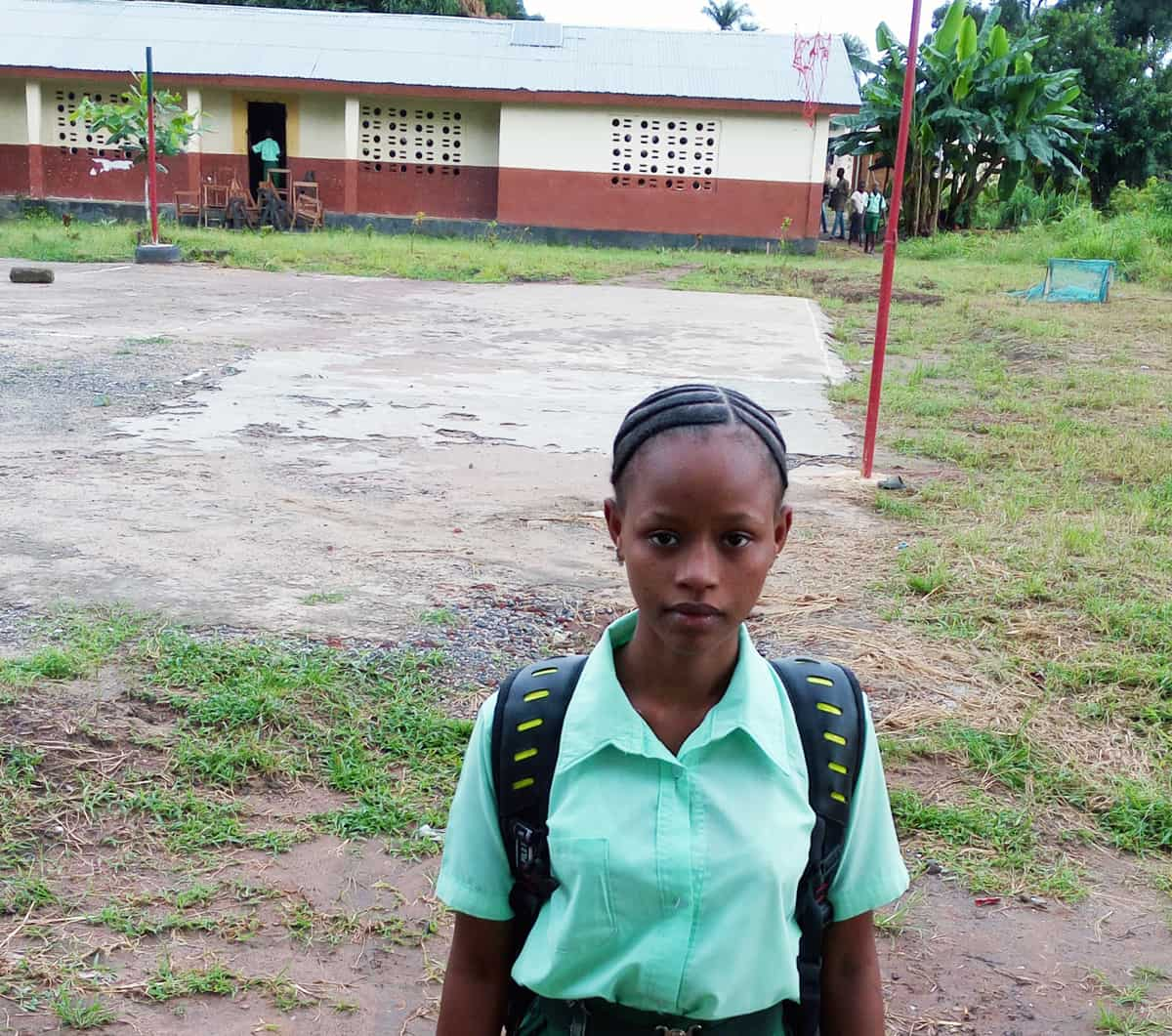 In Sierra Leone zur Schule gehen