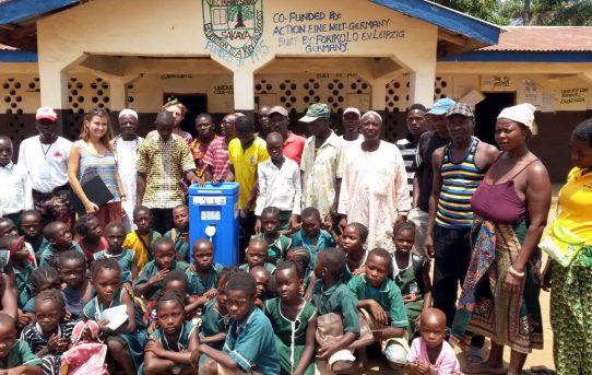 Sauberes Wasser für die Bewohner*innen von Shakaya