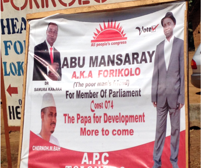 Abu Mansaray becomes an MP