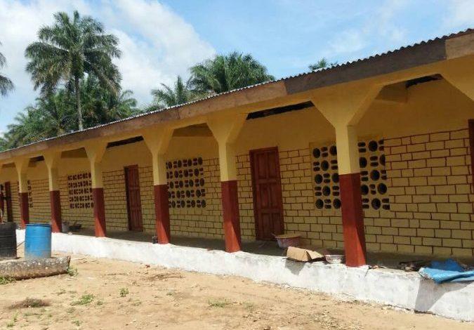 Unsere neue Schule in Bisfak, Sierra Leone. Forikolo - Schulen für Sierra Leone