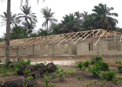 Unsere neue Schule in Mathen, Sierra Leone, entsteht!