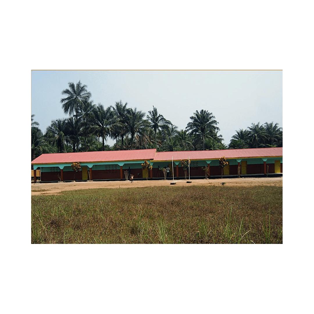 neue Schule in Forikolo 2006