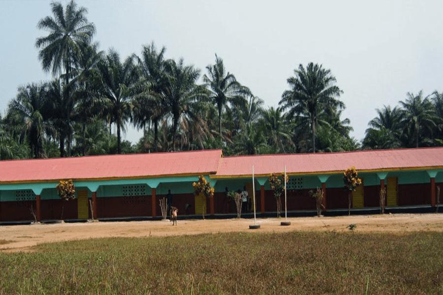 Unsere erste Schule in Forikolo