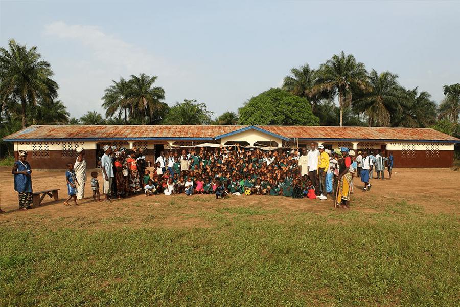 Unsere Schule in Shekaya
