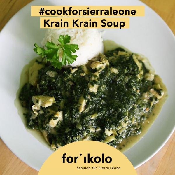 Sierra Leonisches Rezept: Krain Krain Soup, Forikolo e.V.