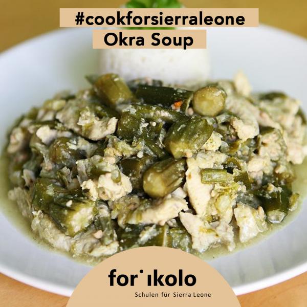 Sierra Leonisches Rezept: Okra Soup, Forikolo e.V.