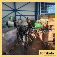 Sammlung der Hilfsgüter für Sierra Leone