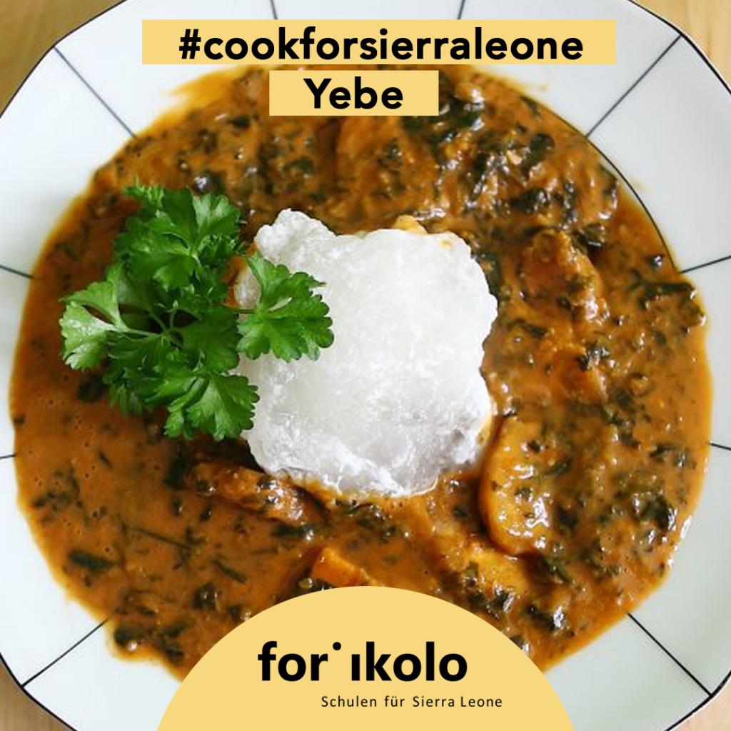 Sierra Leonisches Rezept: Yebe, Forikolo e.V.