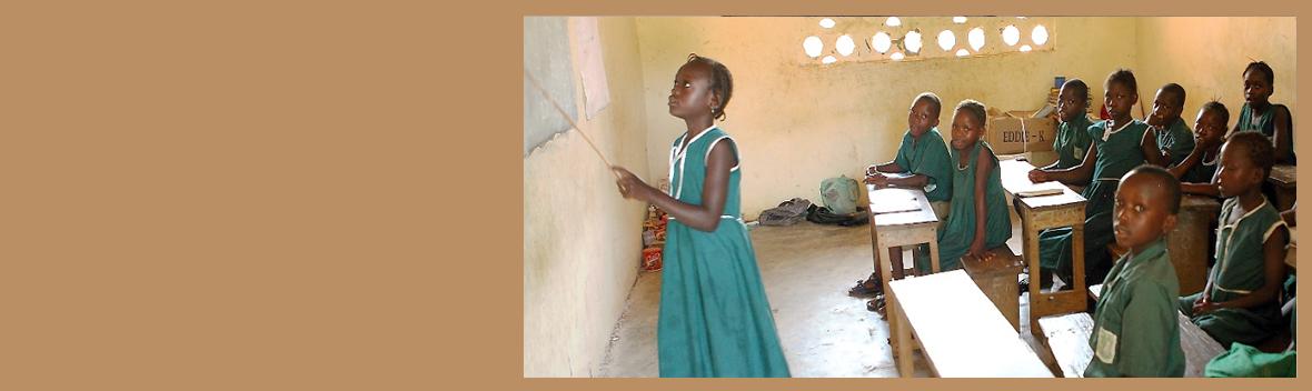 We build schools for Sierra Leone