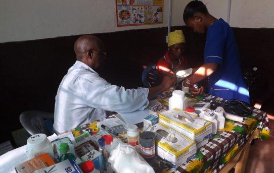 Die Klinik in Kalangba