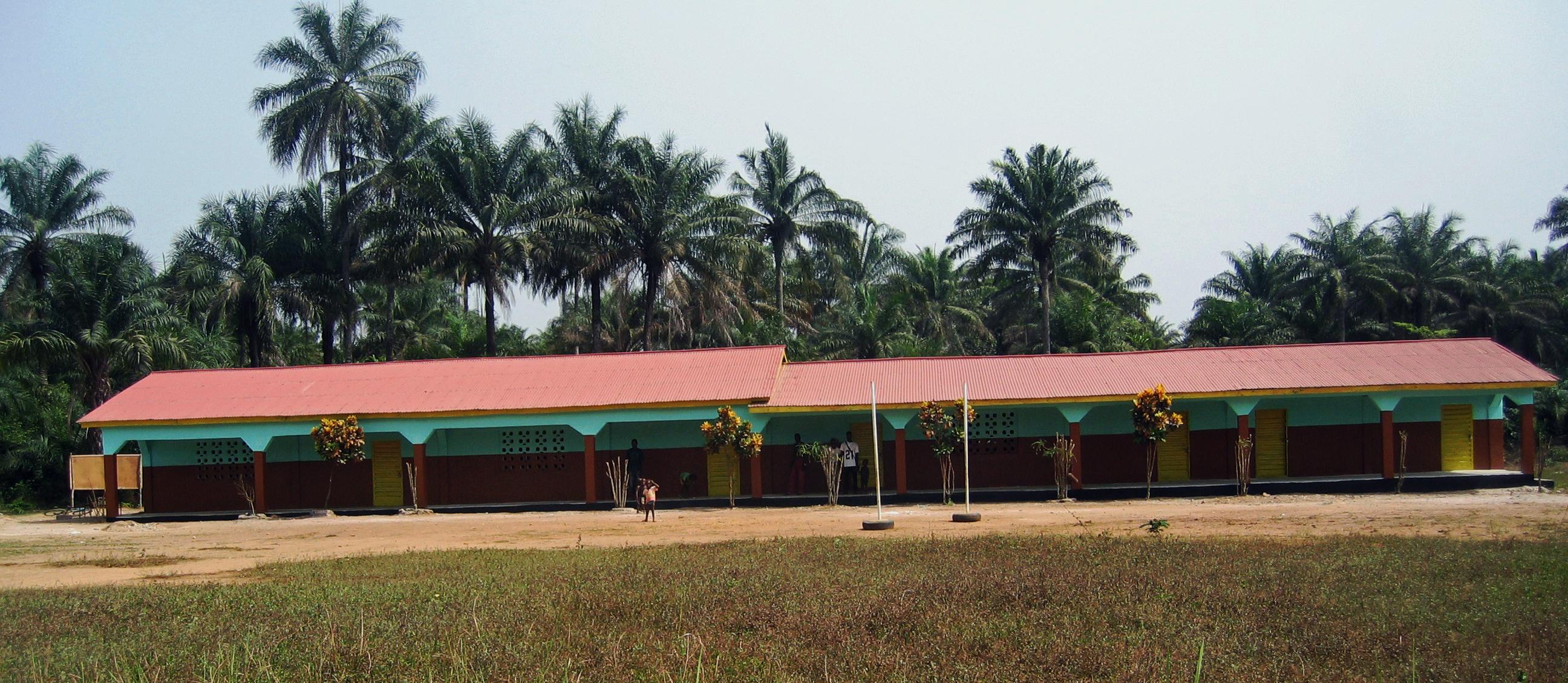 Erste Grundschule in Forikolo